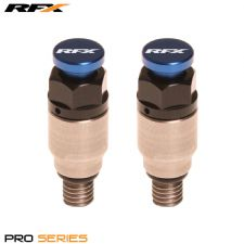 RFX Fork Air Bleeders Kayaba/Showa Blue CRF CR YZ YZF KX KXF RM RMZ 125/250/450